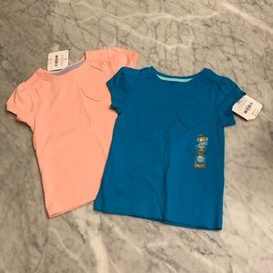 🌸 Gymboree Heart Pocket Tops 18-24mo